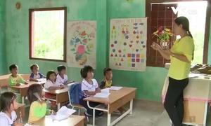 Dạy tiếng Việt cho học sinh sắp vào lớp 1 ở vùng cao