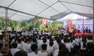 Trung tâm Nuôi dạy trẻ khuyết tật Võ Hồng Sơn khai giảng năm học mới