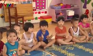 Hà Tĩnh: Học sinh mầm non đã được nhập học trở lại