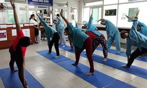 Lớp Yoga miễn phí cho bệnh nhân ung thư