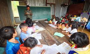 Quảng Nam vẫn còn 218 phòng học tạm