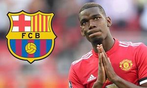 Man Utd gửi tối hậu thư vụ Pogba cho Barcelona