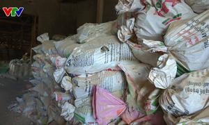 Phú Yên: Phát hiện và thu giữ 44 tấn khoáng sản đá Fluorit