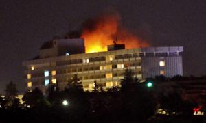 Vụ tấn công khách sạn ở Afghanistan: Ít nhất 18 người thiệt mạng