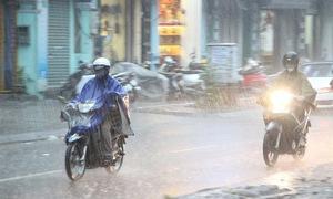 Từ chiều tối 3/10, hai tỉnh Thanh Hóa, Nghệ An sẽ xuất hiện mưa giông rải rác