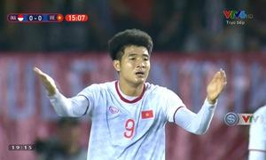 Pha dứt điểm đẹp mắt suýt trở thành bàn thắng của Đức Chinh