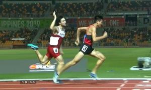 SEA Games 30: Dương Văn Thái giành HCV chạy 800m nam