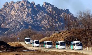 Giao lưu dân sự giữa hai miền Triều Tiên