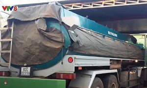 Bắt giữ xe bồn chở 18.000 lít xăng không rõ nguồn gốc ở Đắk Lắk