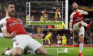 Kết quả vòng 1/16 Europa League: Arsenal, Chelsea giành quyền đi tiếp, Leverkusen bất ngờ bị loại