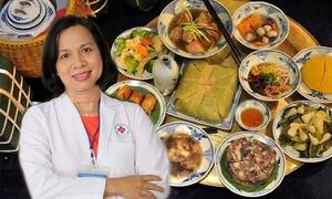 Chọn món ăn ngày Tết cho người cao huyết áp