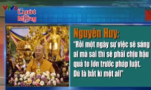 Trụ trì chùa Ba Vàng đã từng nhiều lần bị nhắc nhở