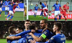 Kết quả bóng đá vòng loại EURO 2020: Tây Ban Nha, Italia thắng dễ