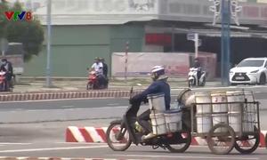 Đà Nẵng: Tiềm ẩn mất an toàn giao thông từ xe lôi kéo