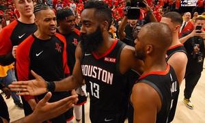 NBA Playoffs 2019 - ngày 21/4: James Harden và màn tỏa sáng đúng lúc