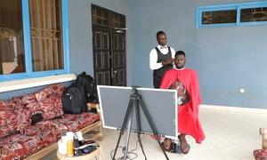 Tiệm cắt tóc di động cho người bận rộn