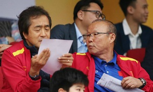 V.League 2020: HLV Park Hang Seo dự khán trận tâm điểm CLB Hà Nội – Hoàng Anh Gia Lai