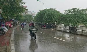 Ngày 21/5, mưa trên diện rộng tại Bắc Trung Bộ