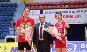Giải bóng chuyền nữ U23 châu Á 2019: Trung Quốc vô địch lần 2, Thanh Thúy là chủ công xuất sắc nhất