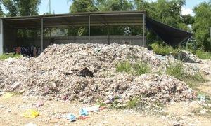 Cần sự hỗ trợ trong xử lý ô nhiễm do xưởng rác thải nhựa