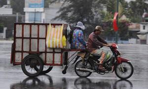 Ngày 25/9, khu vực Nghệ An đến Quảng Ngãi sẽ có mưa giông