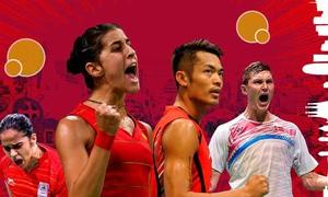 TRỰC TIẾP: Các trận bán kết giải cầu lông Barcelona Masters 2020