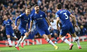 TRỰC TIẾP Chelsea 1-0 Tottenham: Olivier Giroud mở tỉ số trận đấu