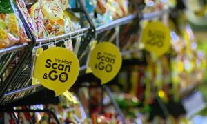 """Trải nghiệm siêu thị ảo """"Scan and Go"""""""