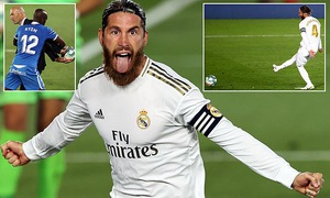 Real Madrid 1-0 Getafe: Người hùng Ramos