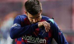 Pique thấy xấu hổ trước trận thua 2-8 của Barca và sẵn sàng chia tay đội bóng