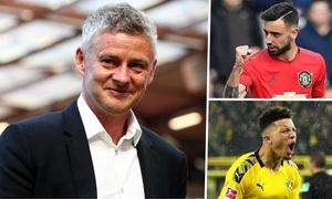 """Chuyển nhượng bóng đá quốc tế ngày 03/8: Man Utd dùng """"tiểu xảo"""" để chiêu mộ Jadon Sancho"""