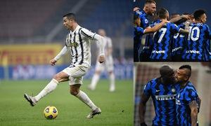 Inter Milan 2-0 Juventus: Ronaldo im tiếng, Juve gục ngã trước Inter