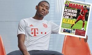 Real Madrid chiêu mộ thành công David Alaba