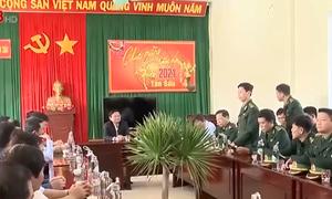 Lãnh đạo tỉnh Bình Định thăm và chúc Tết tại xã đảo Nhơn Châu