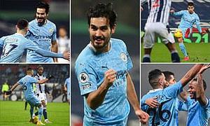 Tạo cơn mưa bàn thắng, Man City chiếm ngôi đầu Ngoại hạng Anh
