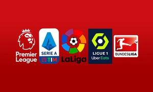 Lịch thi đấu, kết quả, BXH các giải bóng đá VĐQG châu Âu: Bundesliga, Ngoại hạng Anh, Serie A, La Liga