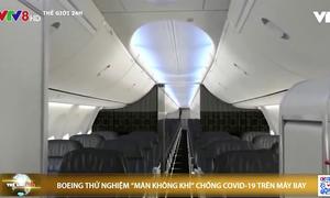 """Thử nghiệm """"bức màn không khí"""" chống COVID-19 trên máy bay"""