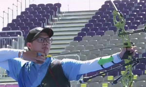 Cung thủ Nguyễn Hoàng Phi Vũ kết thúc hành trình Olympic Tokyo
