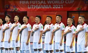 FIFA lẫn AFC ngợi khen chiến thắng của ĐT futsal Việt Nam