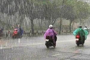Cảnh báo mưa lớn, dông sét ở Trung Bộ, Tây Nguyên và Nam Bộ