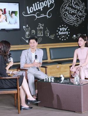 """Giao lưu trực tuyến cùng cặp đôi Thái - Trà của """"Hoa hồng trên ngực trái"""""""