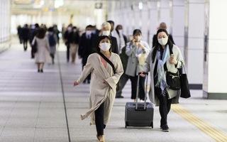 Nhật Bản ghi nhận số ca nhiễm mới cao nhất trong 4 tháng qua