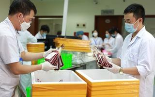 Kỷ lục cung cấp gần 3.000 đơn vị máu khắp cả nước trong một ngày