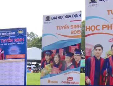 TP.HCM: Hàng nghìn thí sinh tham gia Ngày hội tư vấn xét tuyển ĐH-CĐ 2019