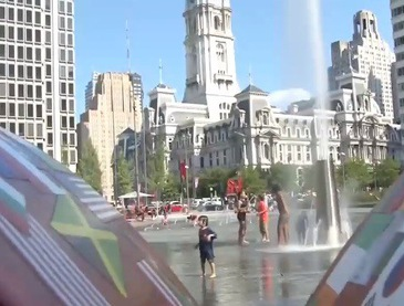 Nắng nóng kỷ lục tại miền Trung và Đông nước Mỹ