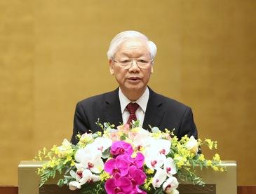 Tổng Bí thư Nguyễn Phú Trọng: Học tập và làm theo Bác phải bằng hành động cụ thể, thiết thực, nói đi đôi với làm