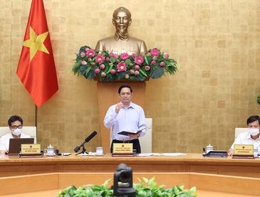 Thủ tướng ra Công điện về phòng chống dịch COVID-19, yêu cầu thực hiện nghiêm giãn cách