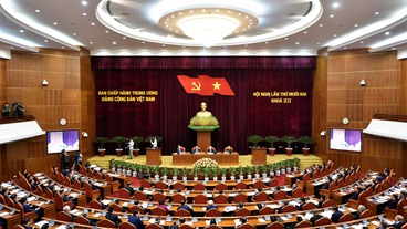 Ngày làm việc thứ nhất Hội nghị Trung ương khóa XII