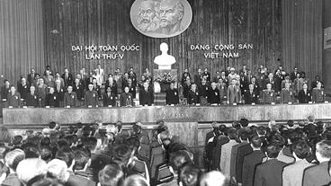 Đại hội đại biểu toàn quốc lần thứ V: Tất cả vì Tổ quốc XHCN, vì hạnh phúc của nhân dân
