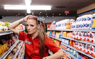 Độc đáo siêu thị với đồ vật toàn làm bằng vải nỉ